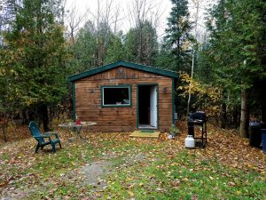 Maine rental cabin