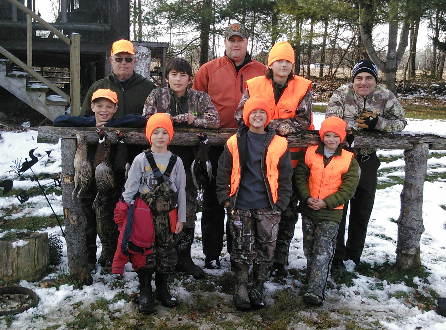 Maine upland hunts