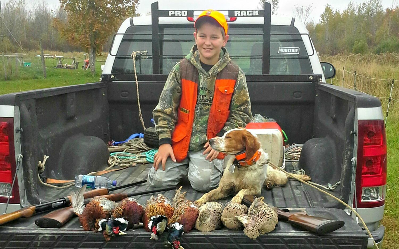 pheasant hunting Maine
